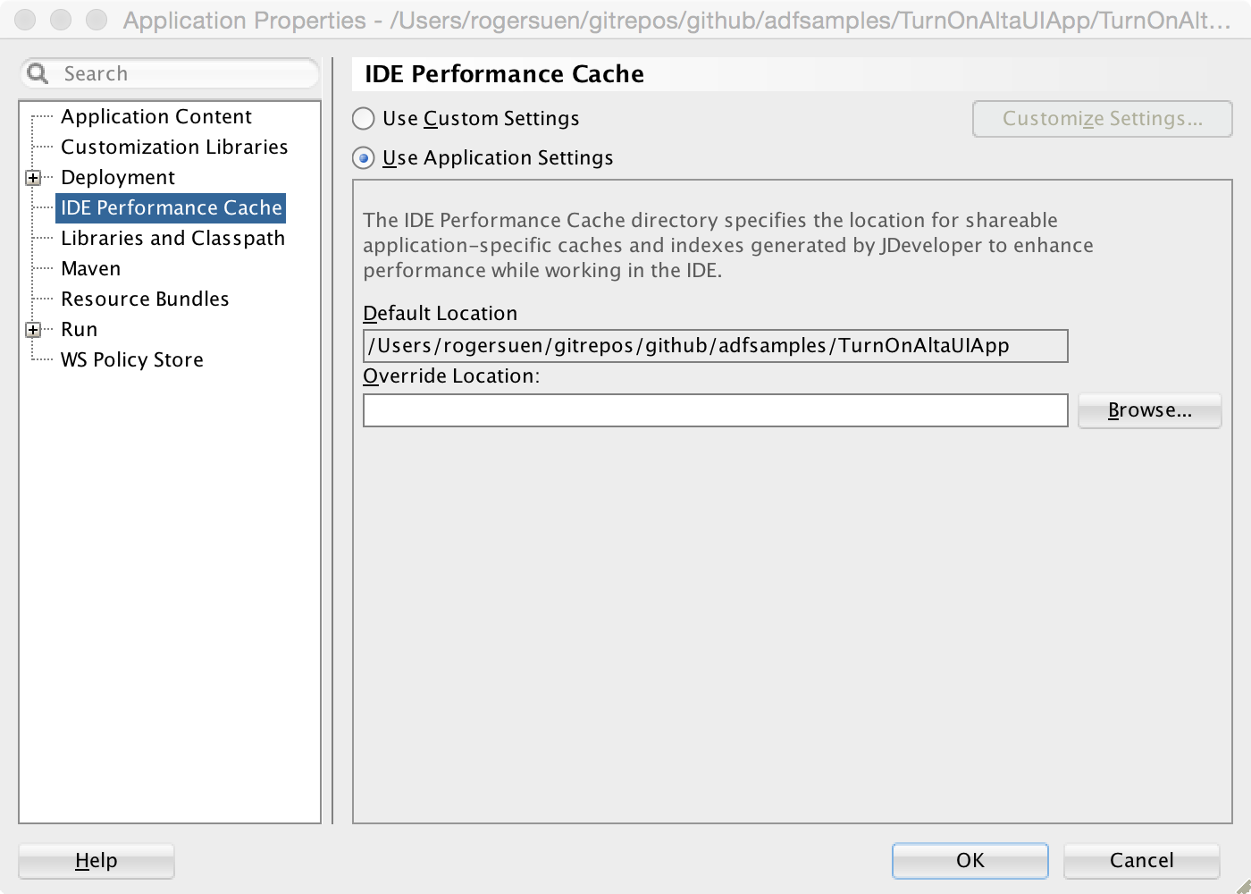 Image: IDE Performance Cache